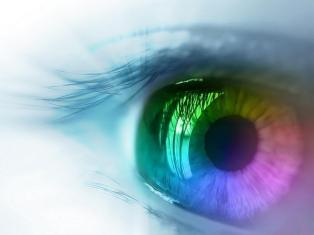 O rainbow-eye