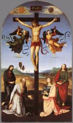 Mond Crucifixion Raphael Sanzio (Raffaello) 1502/1503