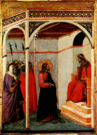 Christ Before Pilate Pietro Lorenzetti ca. 1330