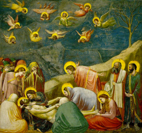 Lamentation (The Mourning of Christ) Giotto di Bondone ca. 1305
