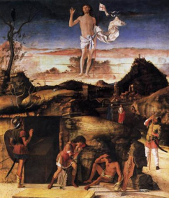 Resurrection of Christ Giovanni Bellini 1475-1479