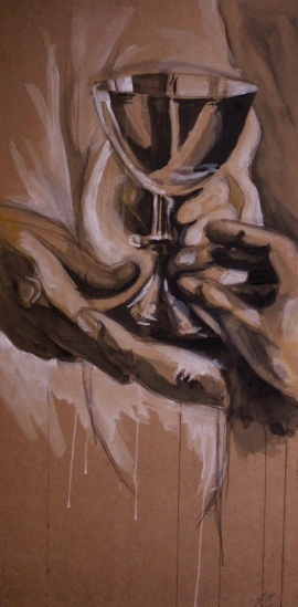 Cup of Blessing by Matt Durbin (C) 2011 www.mattdurbinart.com