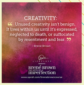 Image result for brene brown creativity